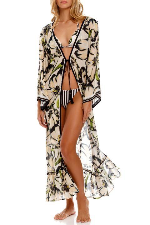 Kattie Long Kimono