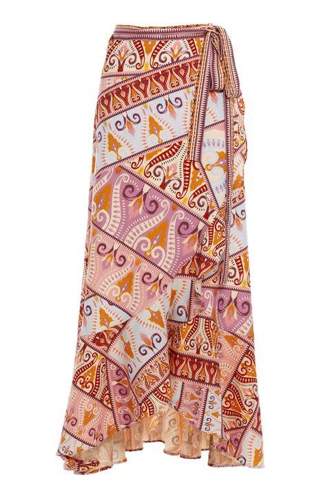 brasil - wraped skirt!